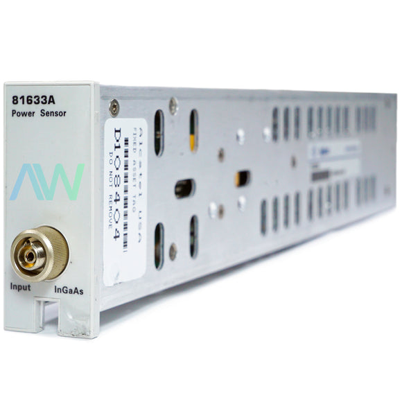 HP | Agilent  81633A 800nm-1700nm Optical Power Sensor Module | Same Day Shipping, 30 Day Warranty from Apex Waves, LLC