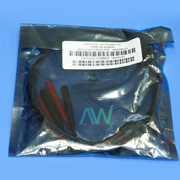 CABLE | 185444B-01 NI Type-HV-8 BAN4, 1 Meter | Same Day Shipping, 1 Year Warranty from Apex Waves, LLC