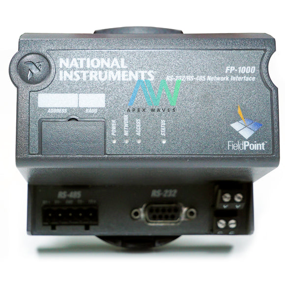 National Instruments NI FP-1000 Field Point Terminal Base | Same Day Shipping, 1 Year Warranty from Apex Waves, LLC