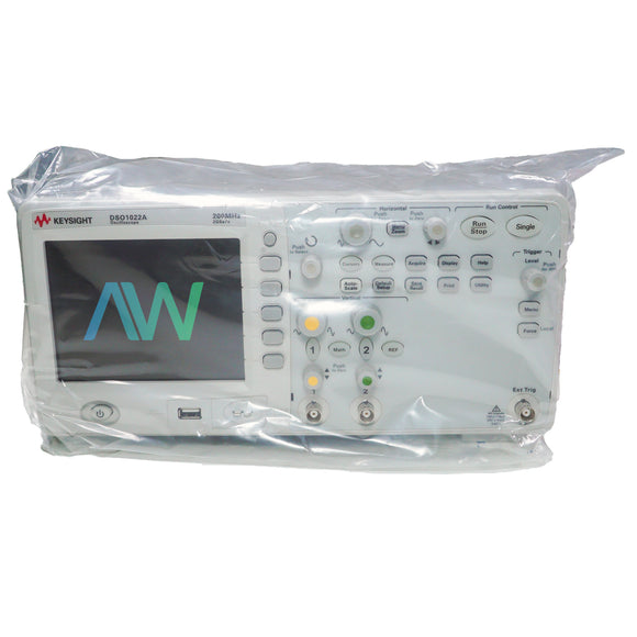 Keysight DSO1022A Oscilloscope, 200 MHz, 2 Analog Channels | Same Day Shipping, 1 Year Warranty from Apex Waves, LLC