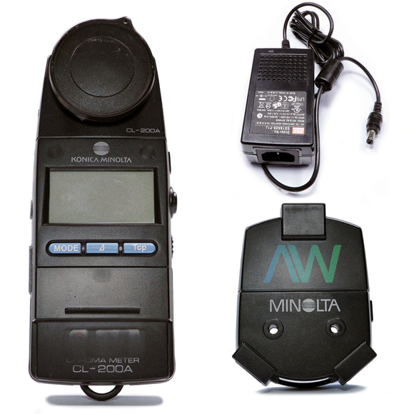 KONICA MINOLTA Chroma Meter CL-200A | Same Day Shipping, 30 DayWarranty from Apex Waves, LLC