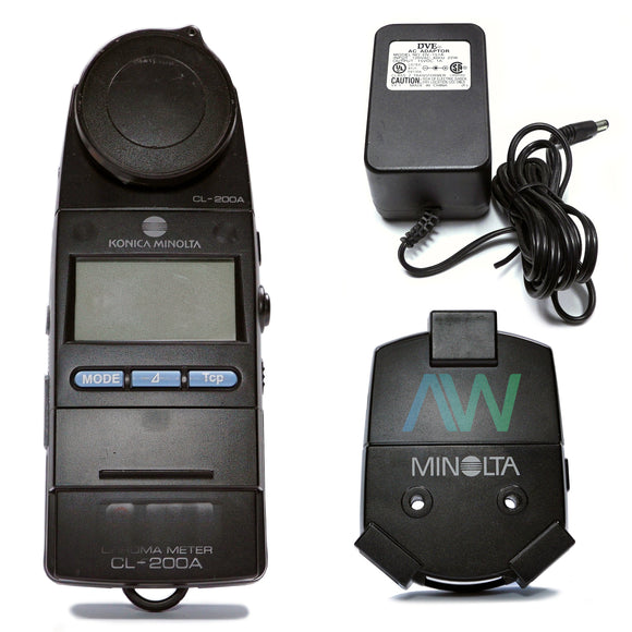 KONICA MINOLTA Chroma Meter CL-200A | Same Day Shipping, 1 Year Warranty from Apex Waves, LLC