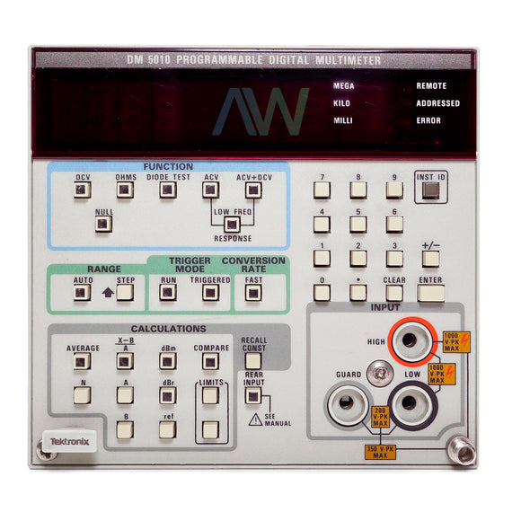 Tektronix DM 5010 Programmable Digital Multimeter | Same Day Shipping, 1 Year Warranty from Apex Waves, LLC