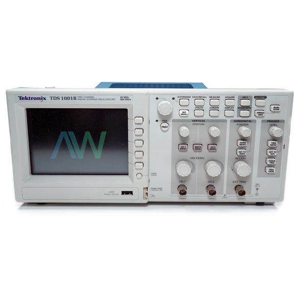 Tektronix TDS 1001B, 2 Channel Digital Oscilloscope | Same Day Shipping, 1 Year Warranty from Apex Waves, LLC
