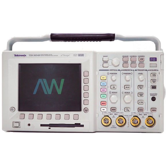 Tektronix TDS 3054B 4 Channel Color Digital Phosphor Oscilloscope 500 MHz 5 GS/s | Same Day Shipping, 1 Year Warranty from Apex Waves, LLC