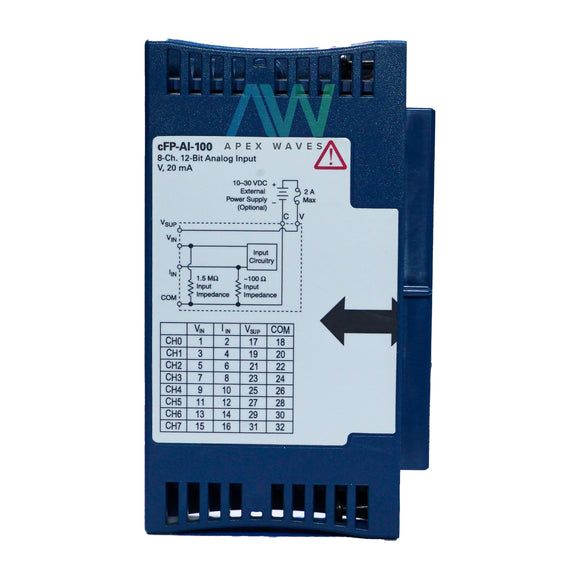National Instruments NI cFP-AI-100 Analog Input Module | Same Day Shipping, 1 Year Warranty from Apex Waves, LLC