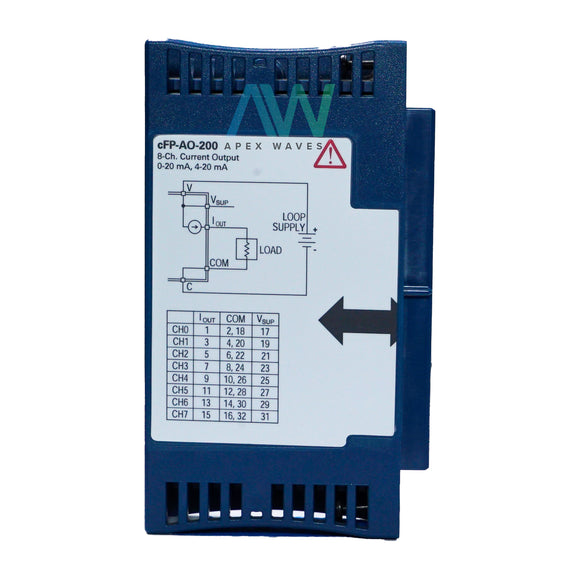 National Instruments NI cFP-AO-200 Analog Output Module | Same Day Shipping, 1 Year Warranty from Apex Waves, LLC