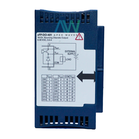 National Instruments NI cFP-DO-401 16-Channel Discrete I/O Module | Same Day Shipping, 1 Year Warranty from Apex Waves, LLC