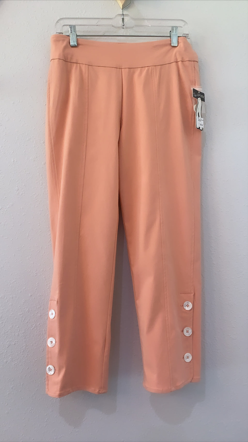 Thin Her Crop Pant Peach