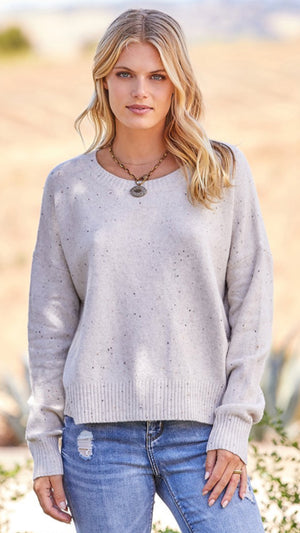Golden Hour Pullover Sweater Heather