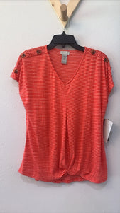 Missy Heartland Top Red