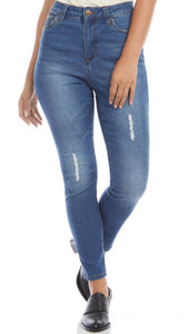 Karen Kane High Waist Jean Denim