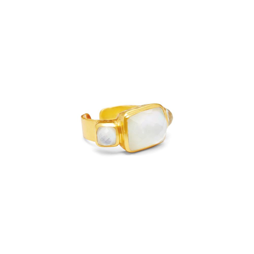 CATALINA TRI-STONE RING