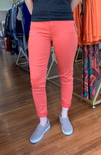 Skinny Ankle Jean Orange