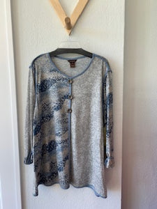 Placement Print Pullover