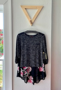 Melrose Layered Look Top