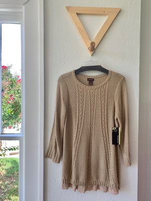 Scoop Neck Sweater Taffy