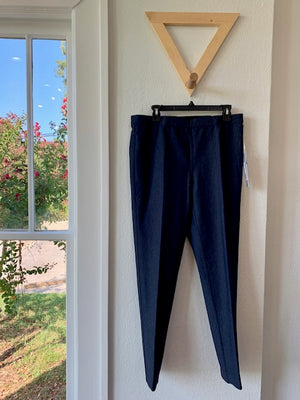 Fit Fabulous Reversible Pull On Pant Heather Dark Indigo/Black