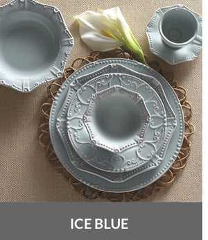 Isabella Ice Blue Dinnerware