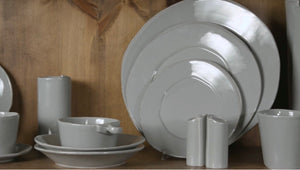 Lastra Gray Dinnerware