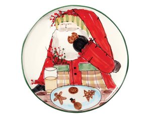 Vietri Old St Nick Cookie Platter