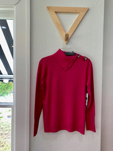 Color Me Chic Sweater Hot Pink