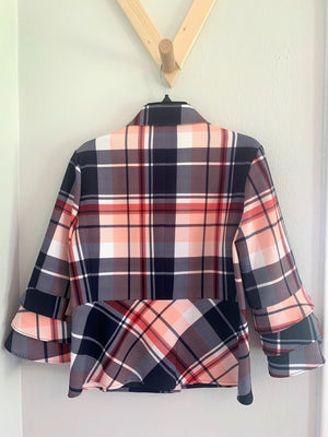 Nautique Plaid Jacket