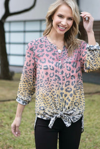 Wild Side Tie Front Top