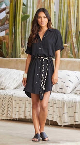 Beachcomber Belt Shirtdress