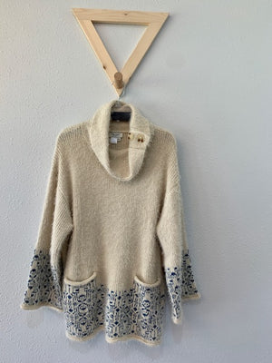 Eyelash Yarn Pullover Sweater