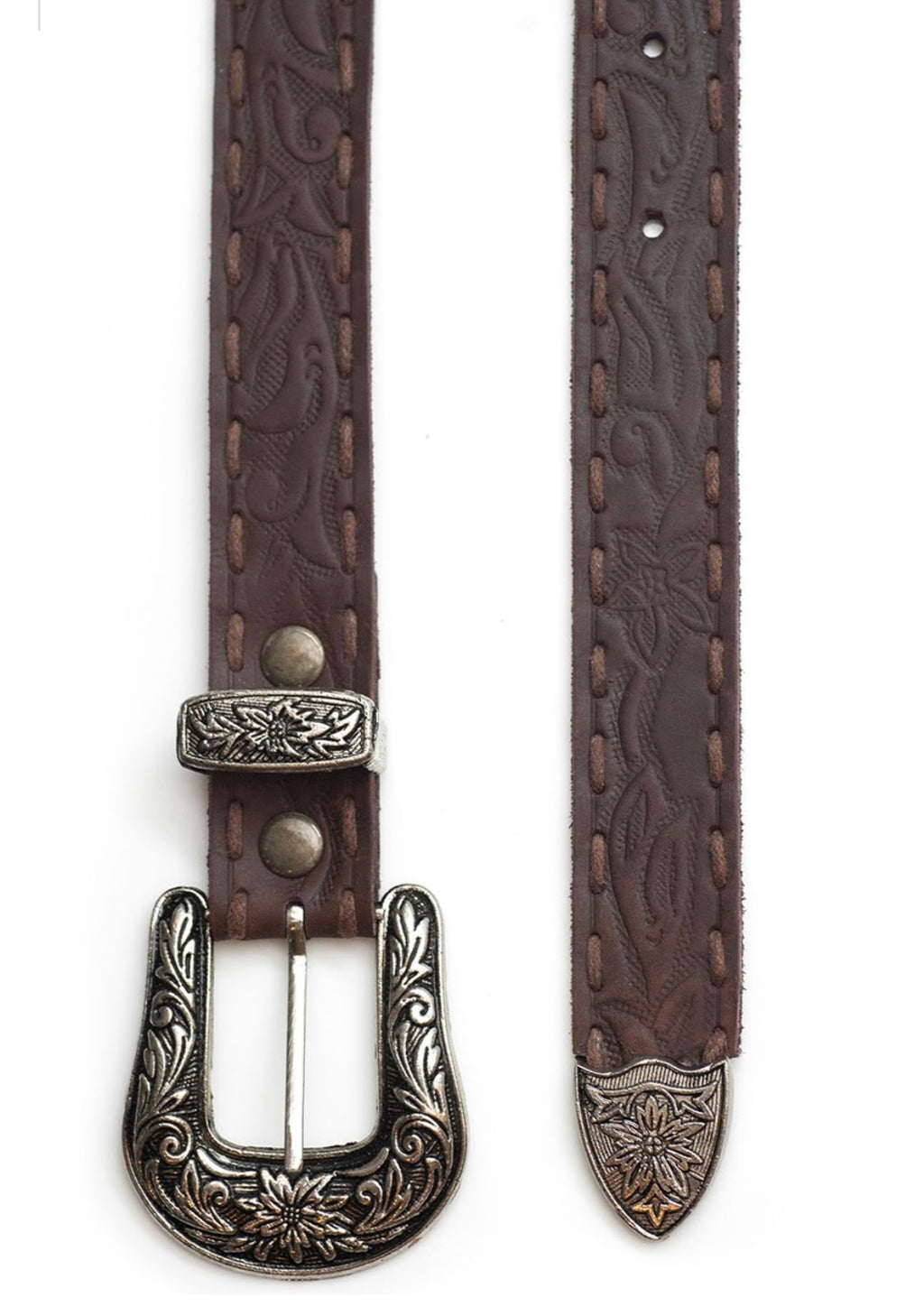 The Gypsy Queen Belt - Antique Brown