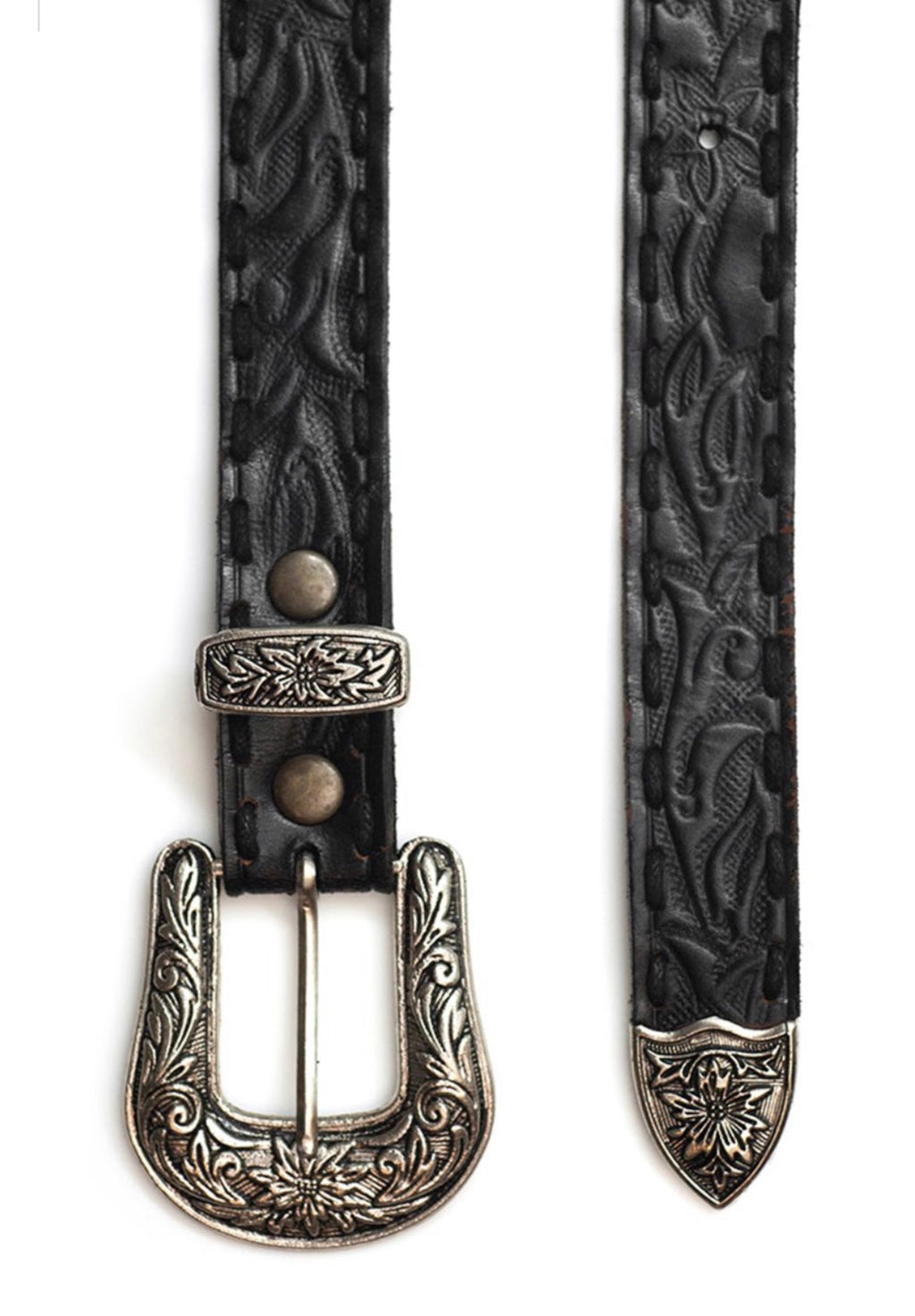 Gypsy Queen Belt - Vintage Black