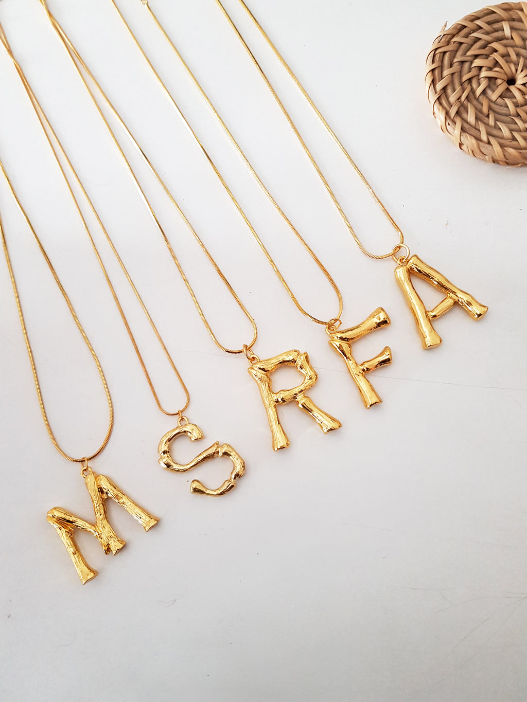 NECKLACE LETTER