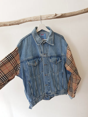 HANDMADE DENIM COAT