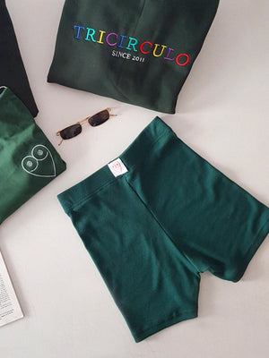 MATRA SHORTS GREEN  // handmade