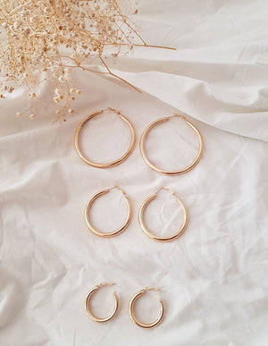 HOOPS ROUND // 4 SIZES