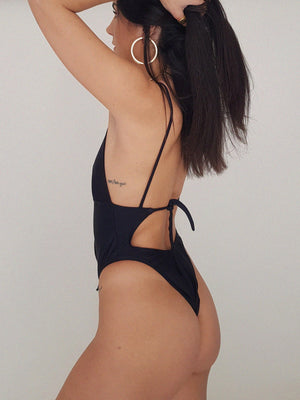 ZEUS SWIMSUIT // BLACK