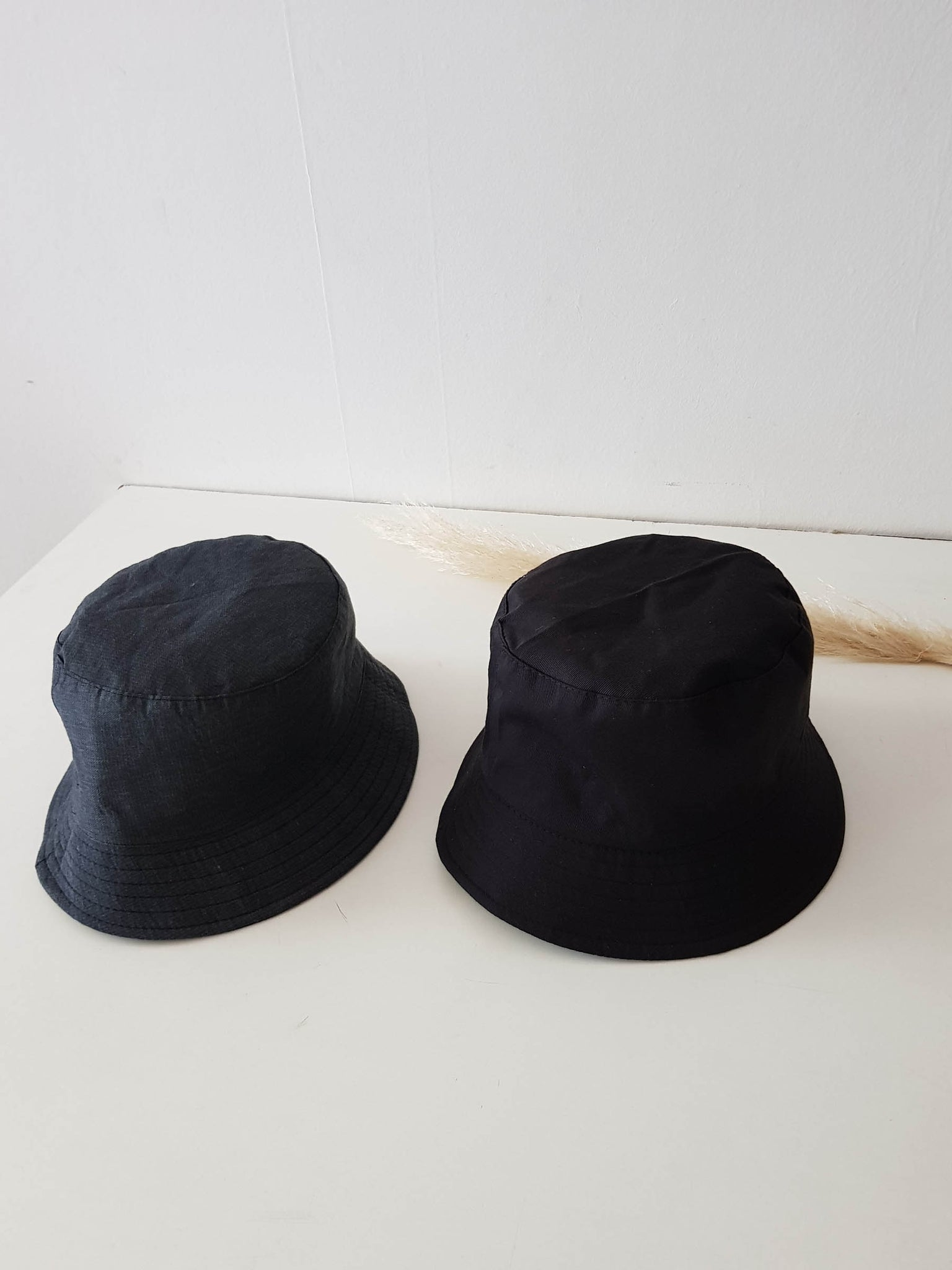 BUCKET HAT BLACK