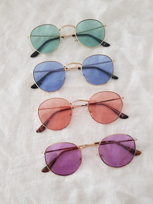 SEMI ROUND SUNNIES // COLOR