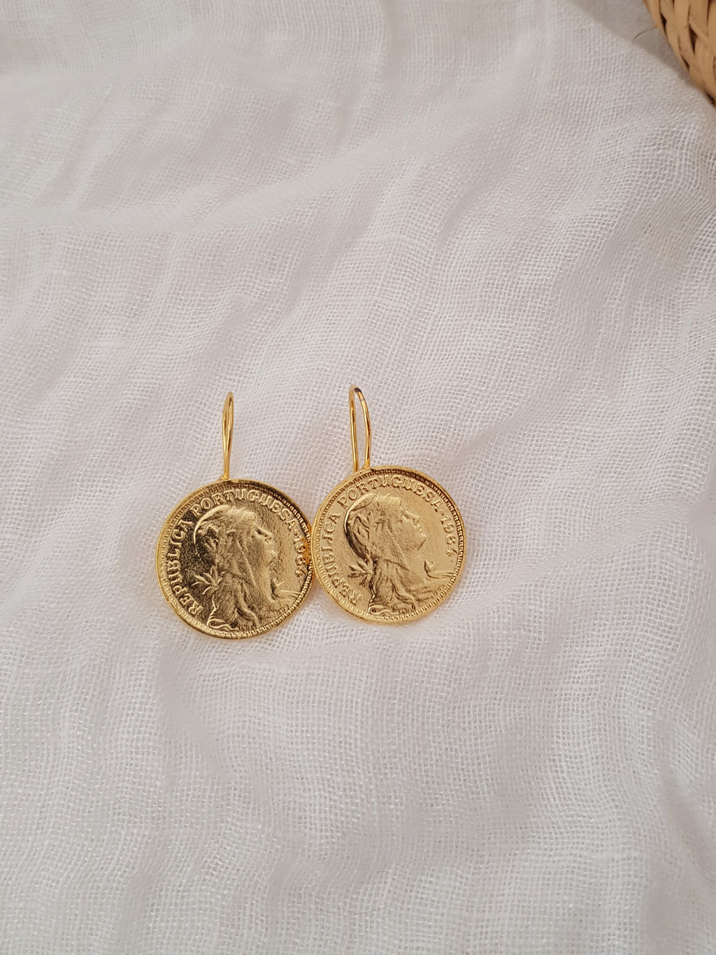 COIN EARRINGS // handmade in portugal