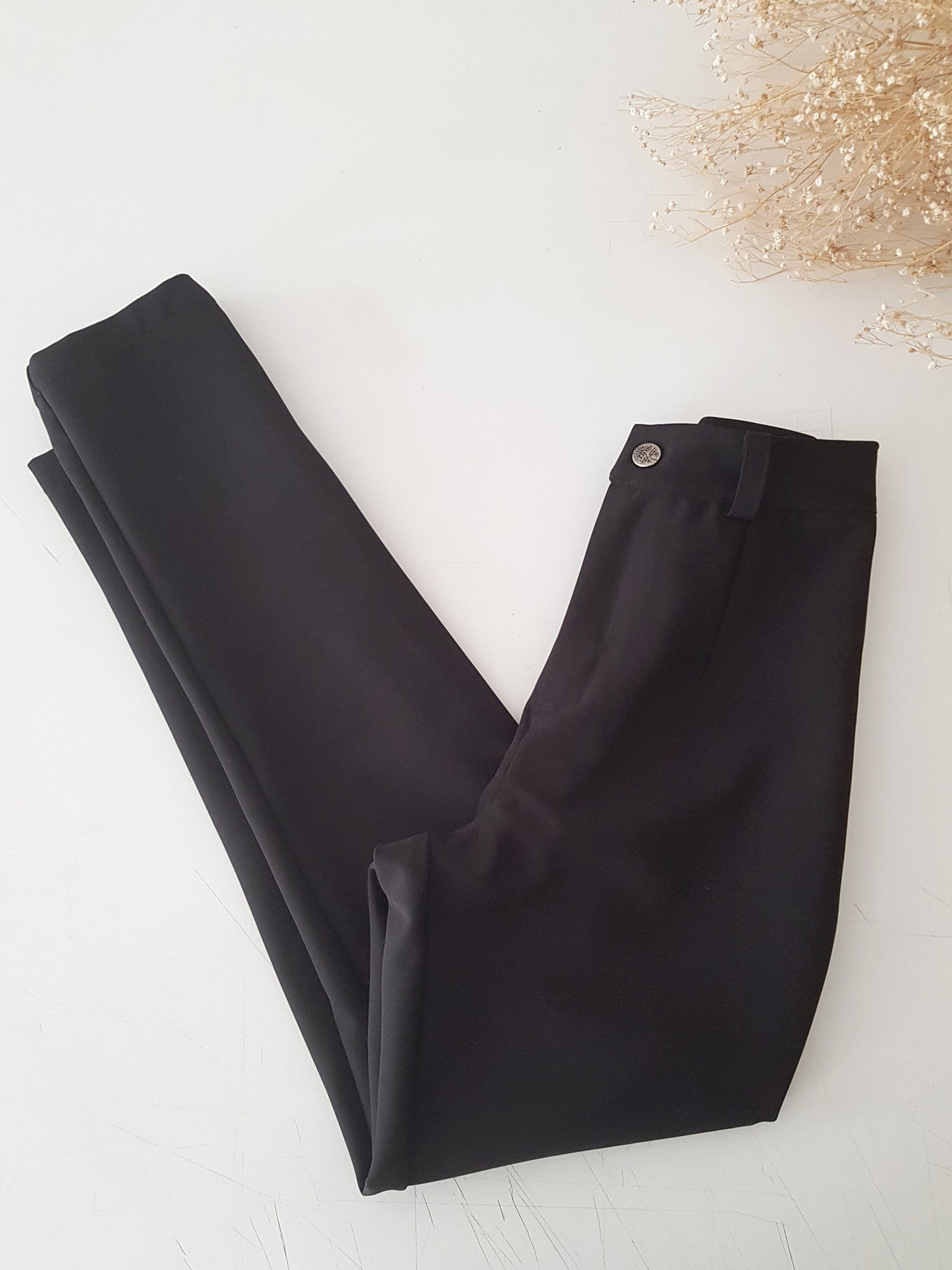 STUNNING BLACK TROUSERS // handmade