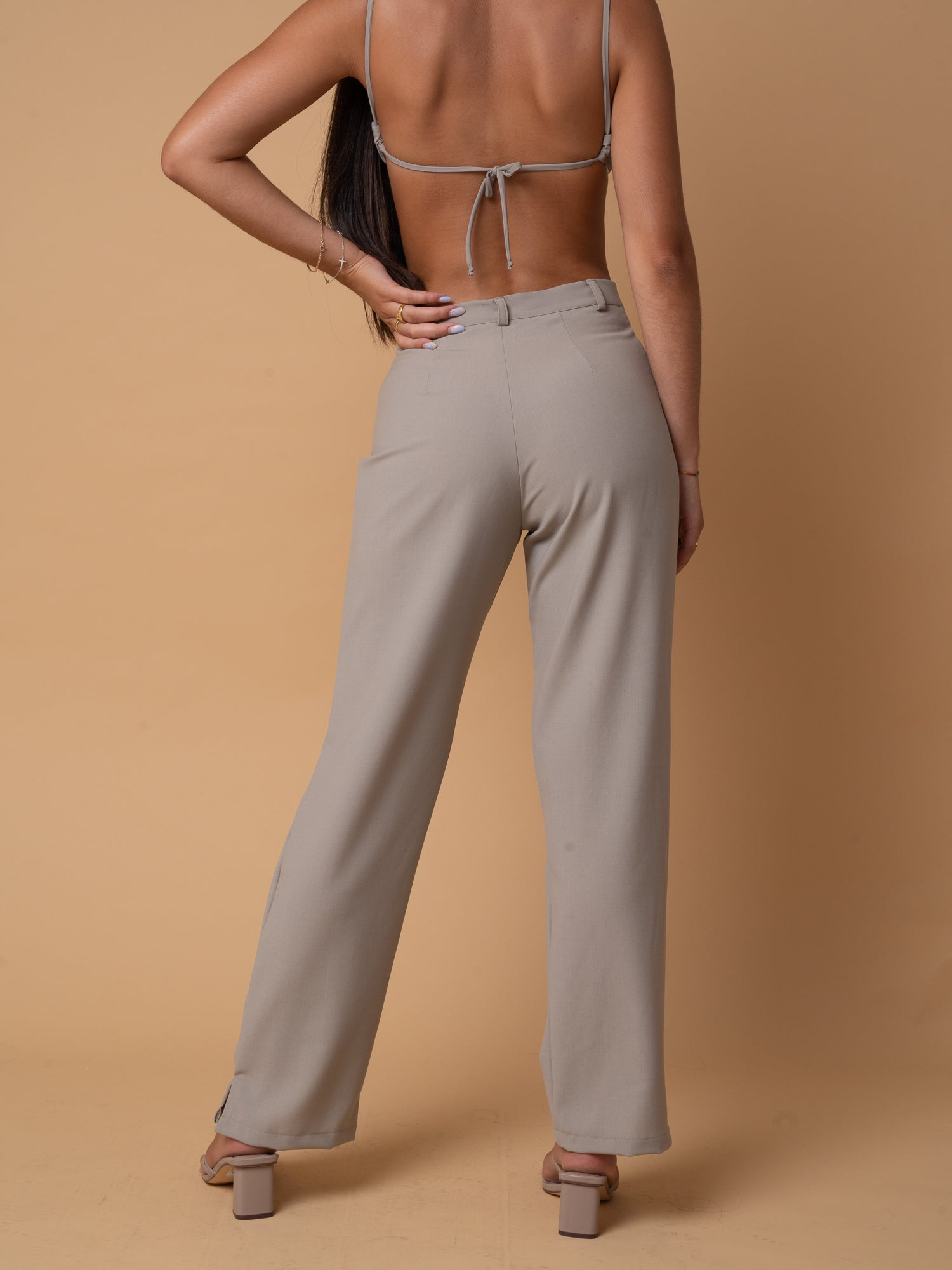 "STONE ""DINGO"" TROUSERS // WIDE LEG"