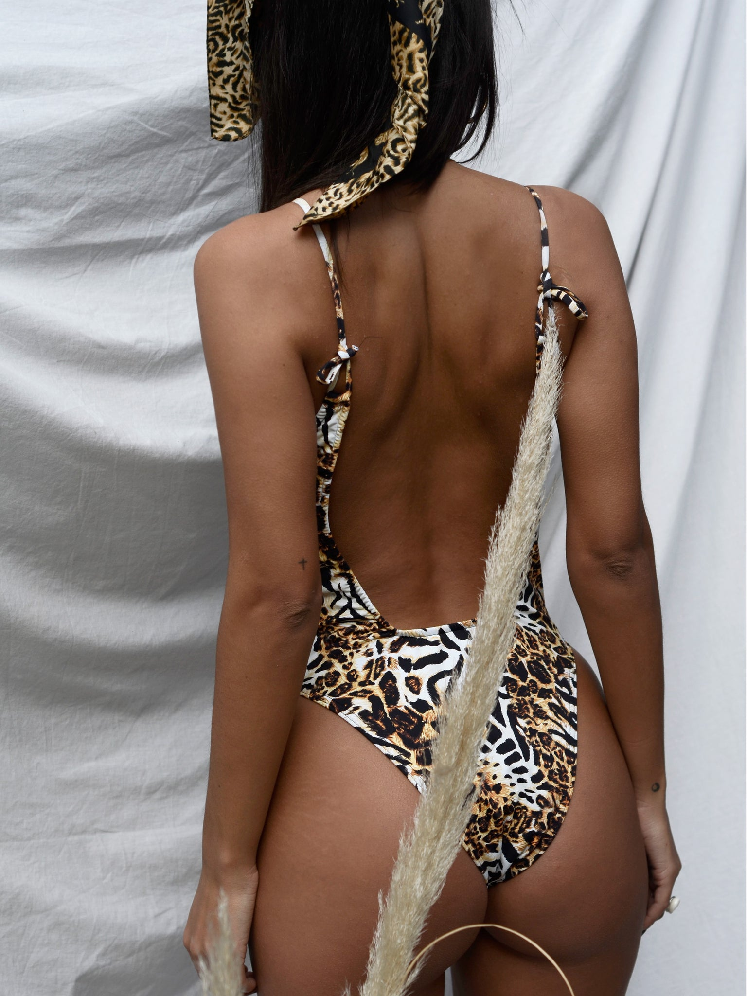 MONO SWIMSUIT // LEOPARD