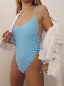MOON SWIMSUIT // BLUE (eco)
