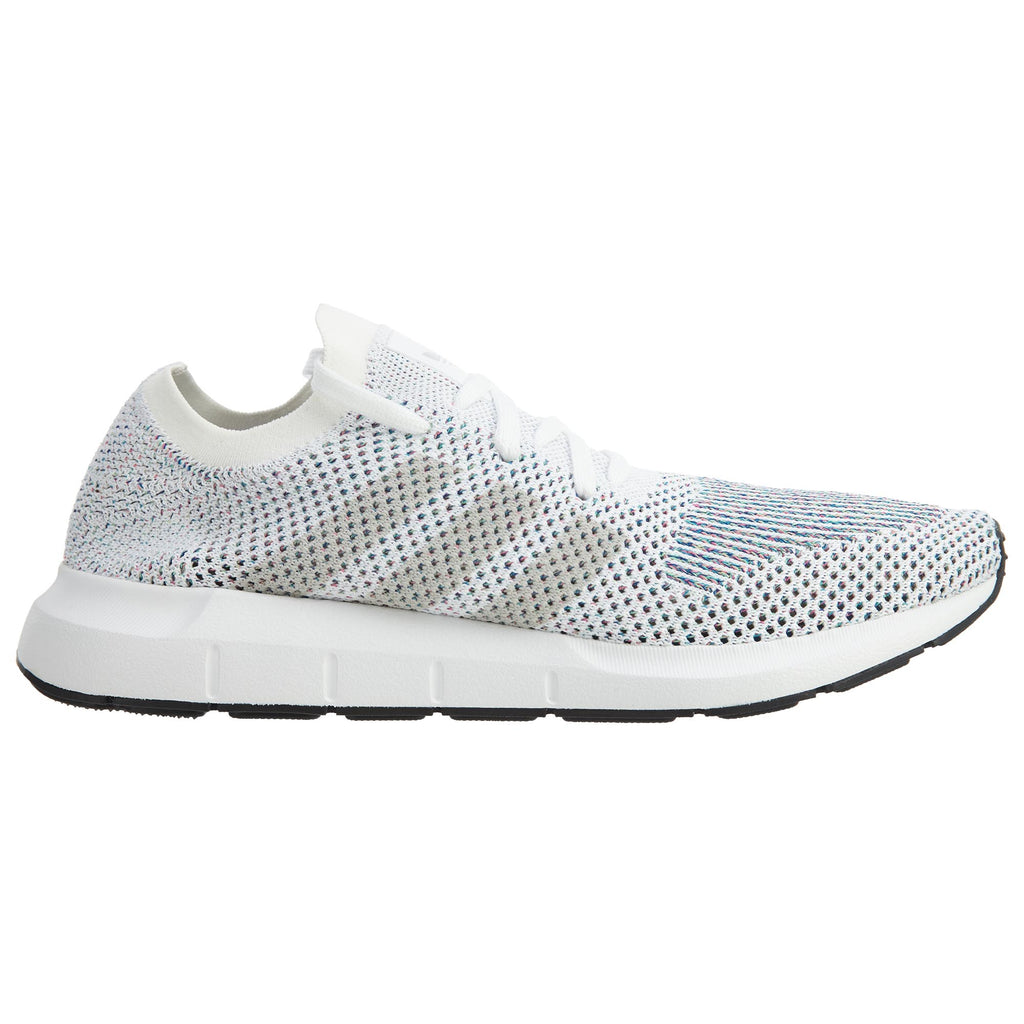 Adidas Swift Run Primeknit White Grey Black  Mens Style :CG4126
