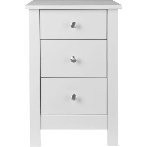 Florence Paint Finished Bedside Cabinet With 3 Drawers - Simply Utopia