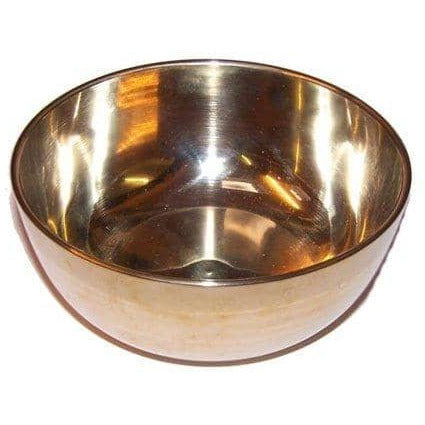 Medium Brass Sing Bowl - 12cm - Simply Utopia