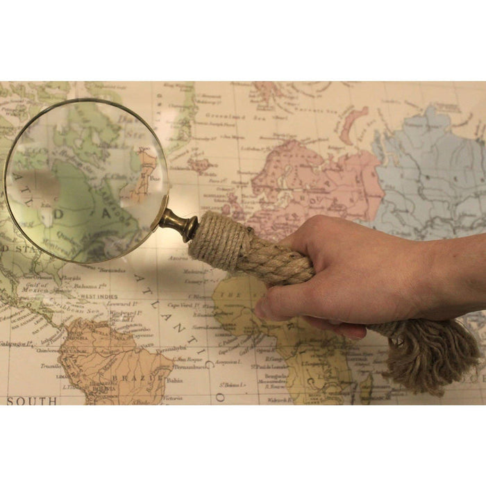 Vintage Magnifying Glasses - Rope Handle - Simply Utopia