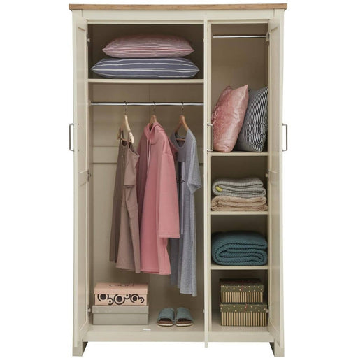 Lisbon 2 Piece Set (3 Door Wardrobe, 2+2 Chest) - Simply Utopia