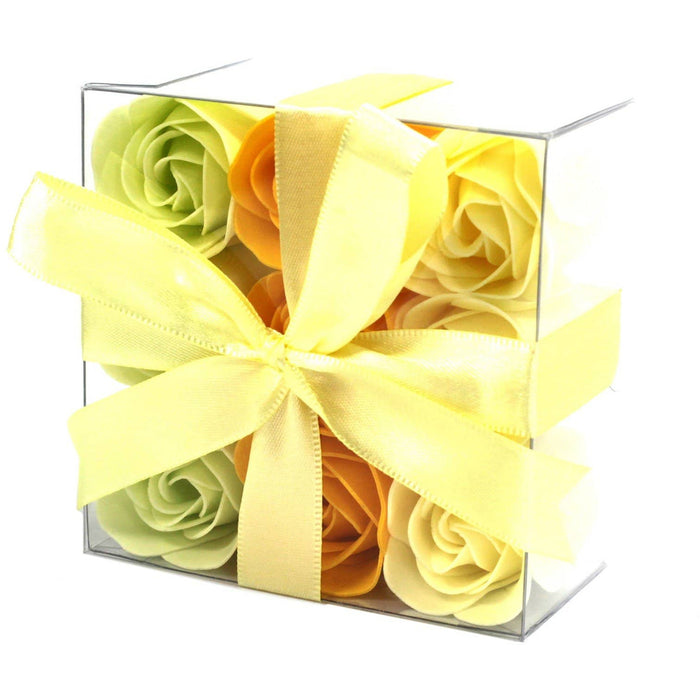 Set of 9 Soap Flowers- Spring Roses - Simply Utopia